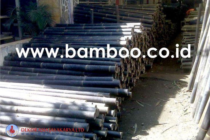 Bamboo Pole - Bamboo Indonesia