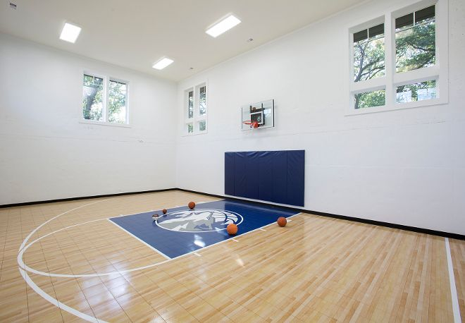 Indoor basketball court - wow!  Wish we would have had this!