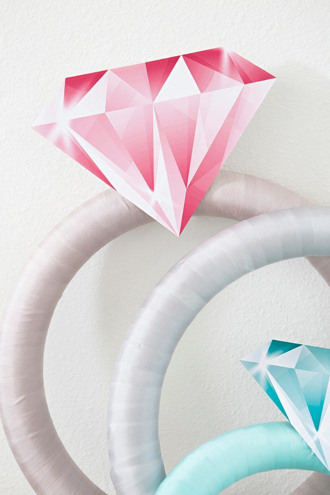 Hosting an engagement shower in the near future? We love this awesome DIY that Something Turquoise created. Learn how to make this simple idea with just a few products.