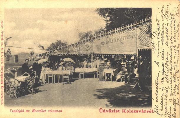 Old terase in Cluj/Kolozsvar