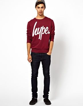Enlarge Hype Sweatshirt With Basic Logo
