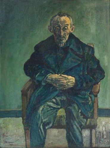 Jopie Huisman: he painted his father just a few minutes after his wife died. What you see here is pure pain and despair.