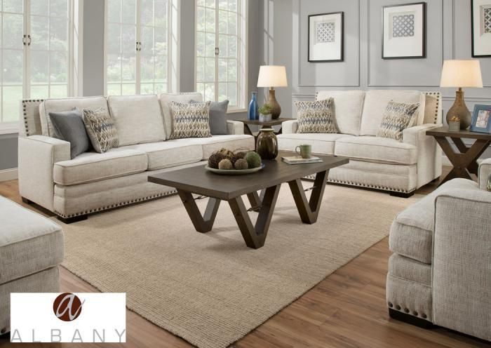 Albany Symbio Living Room Collection Cream Living Room Sets 3