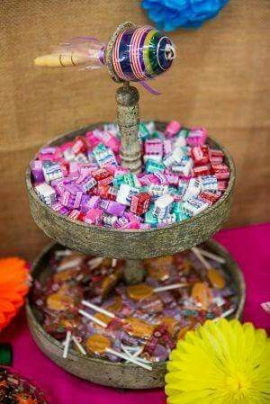 Traditional MEX Wedding candy table