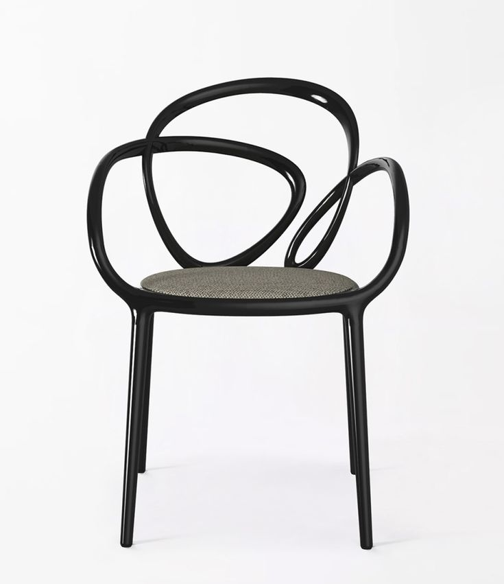 Today's crush: the assymetrical Loop chair by Swedish studio Front for Qeeboo, a new Italian brand presenting their first collection at the...