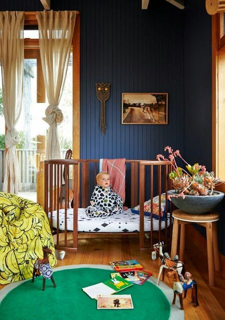 the boo and the boy: eclectic nurseries