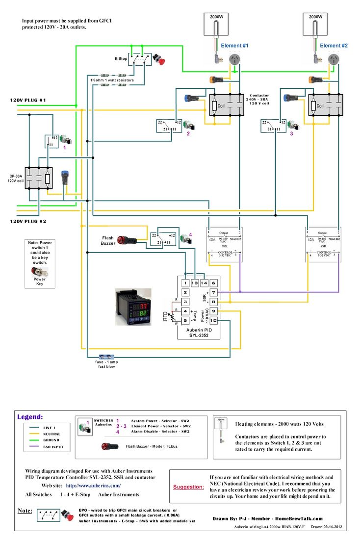 Ac Motor Speed Controller Wiring Diagram 120v Dual Element Wiring Diagram Home Brew Forums In