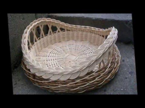 Шедевры рукоделия Красивые поделки из газетных трубочек - YouTube