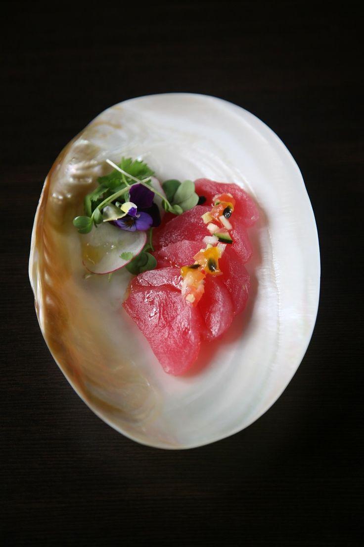 Tiradito de atún del Pacífico