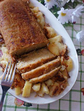 Un polpettone rispettoso della natura? Il mio polpettone di melanzane in #Veganstyle e dal gusto irresistibile. A meatloaf respectful of nature? My meatloaf eggplant in #Veganstyle and irresistible taste. :)