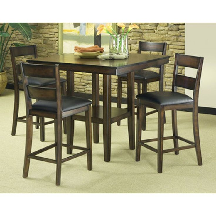 Best 25 Pub Style Dining Sets Ideas On Pinterest  Small Pub Prepossessing Pub Height Dining Room Table Decorating Inspiration