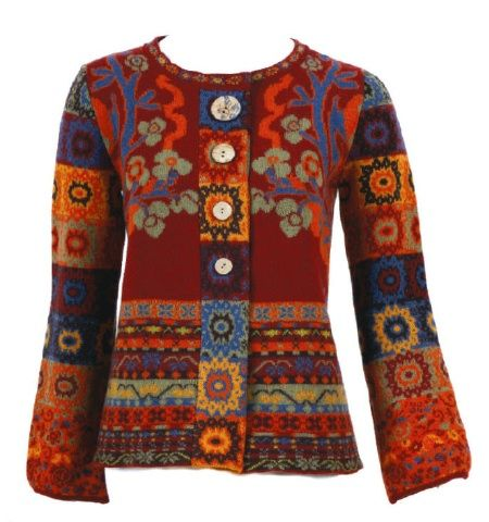 Ivko Woman`s Cardigan 91053-008 in Red