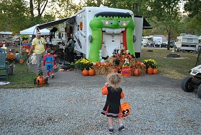 Tales of the T's: Halloween camping