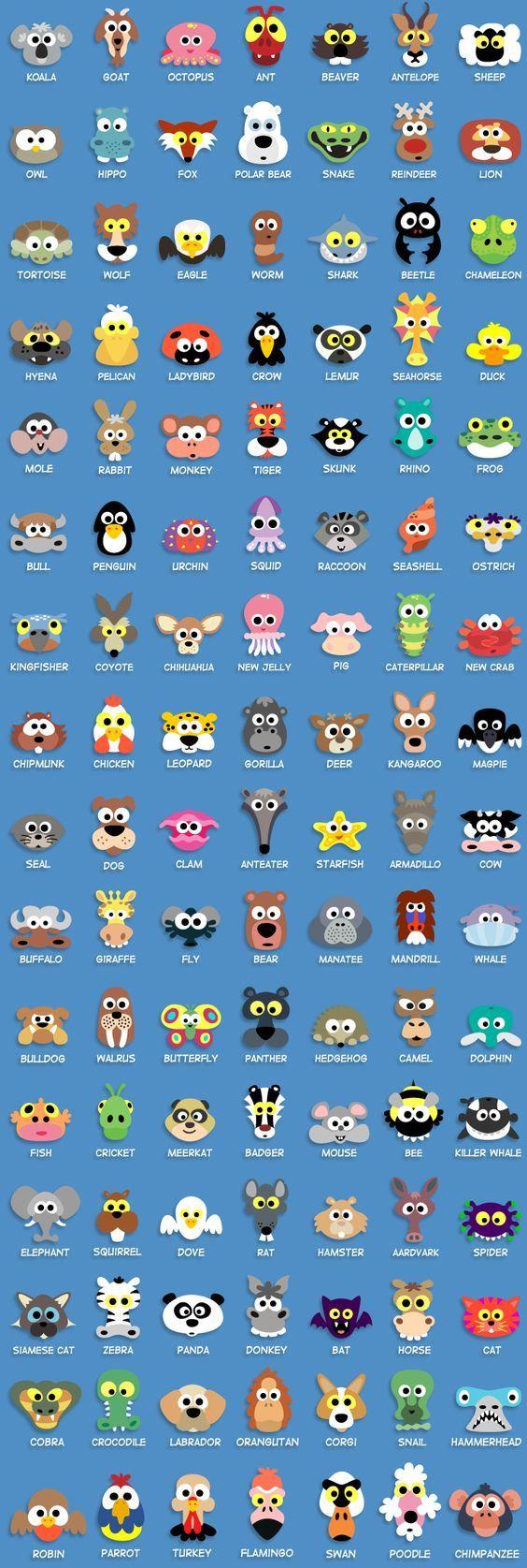 Printable Animal Masks For Kids - Over 200 animal and Halloween masks only $19: