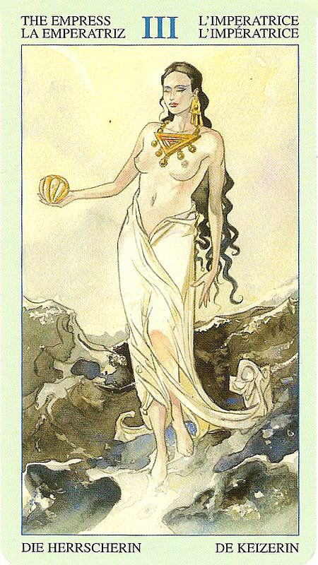 The Empress - Tarot of Atlantis Find out what the Empress means for you: www.tarotbyemail.com