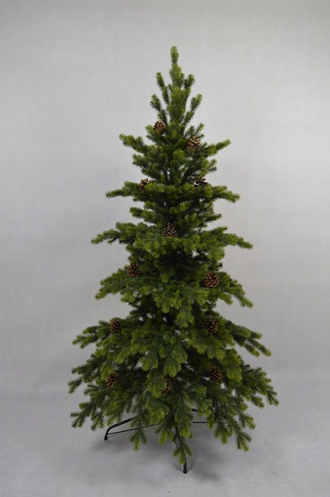 Choinka Sztuczna Swierk Natura 100 Pe 150cm 7555630118 Oficjalne Archiwum Allegro Christmas Tree Holiday Decor Holiday
