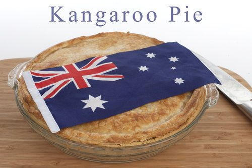 Would love to try this -- Kangaroo Pie by @Gourmet Getaways  (Australia Day Recipes)  #riberry #cooking #australian #food #pie #kangaroo