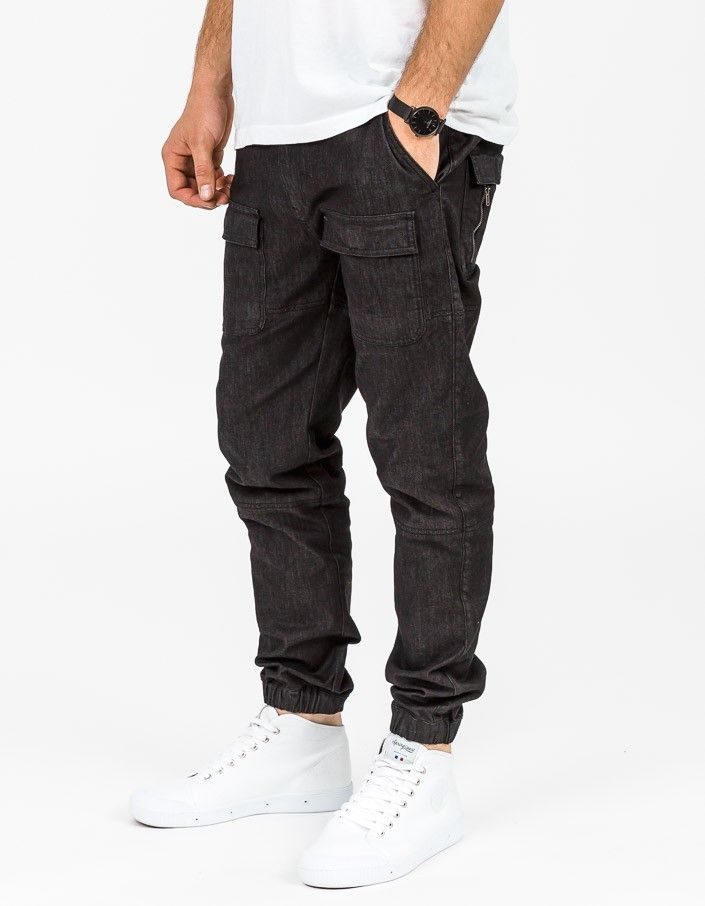 Bobby Pant - Black Denim