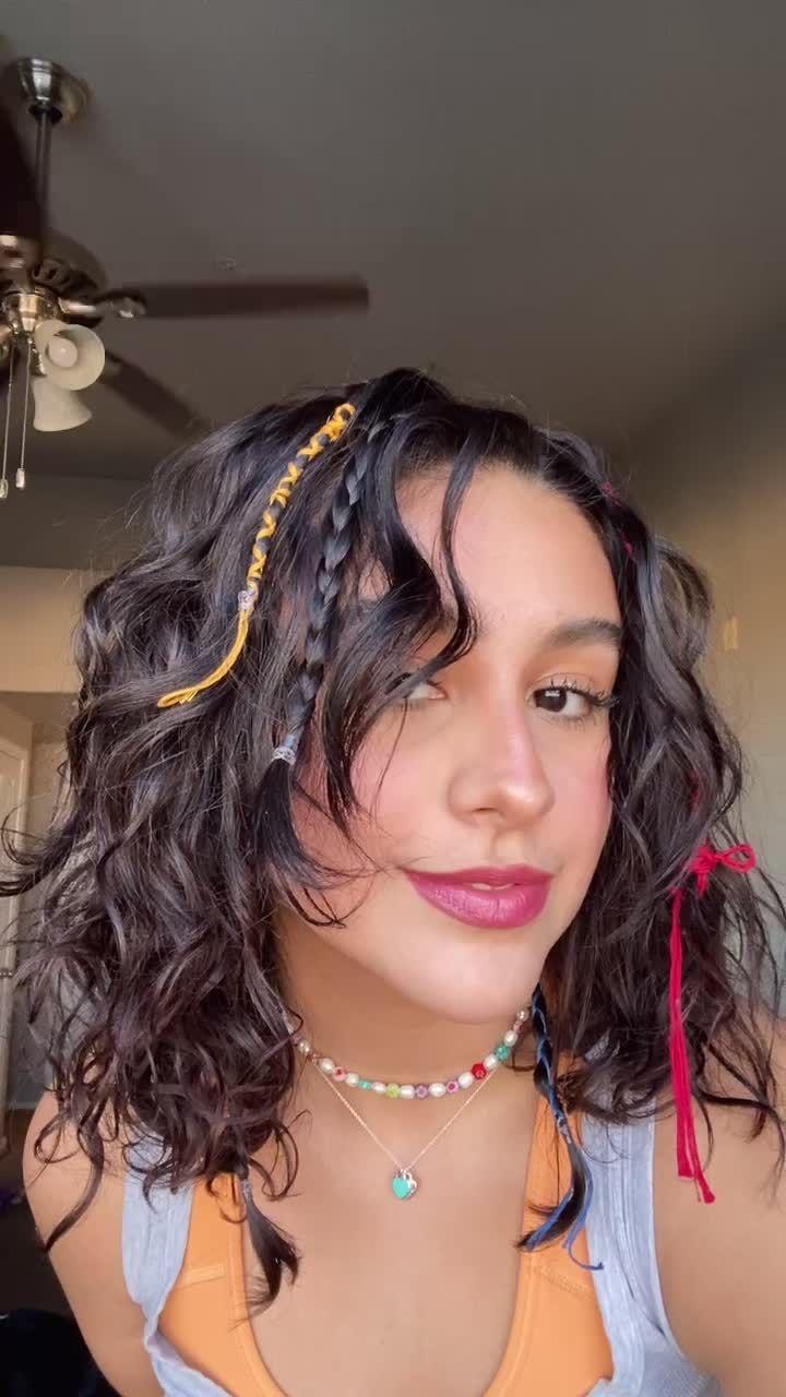 Sofiaecheagaray Sofiaecheagarayr On Tiktok Fairy Hair Fyp Fairyhair Hairstyle Hairtutorial Curlyhair Viral In 2021 Fairy Hair Hair Styles Grunge Hair
