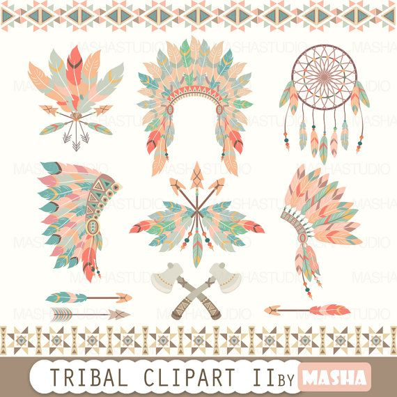 Check out this item in my Etsy shop https://www.etsy.com/listing/263836569/tribal-clipart-tribal-clipart-ii-with