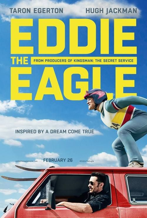 Eddie The Eagle (2016) - The story of Great Britain's first ski jumper to enter the Winter Olympics.