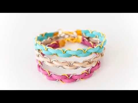 DIY Easy Braided Bracelet | The Crafting Nook by Titicrafty