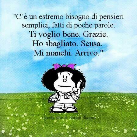 .pensieri di Mafalda