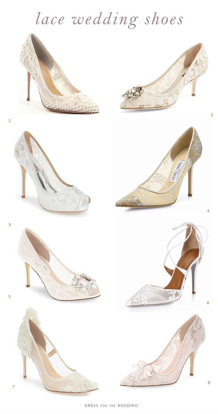 820 best bridal shoes images on pinterest bridal shoes wedding 8 picks for beautiful lace wedding shoes ombrellifo Gallery
