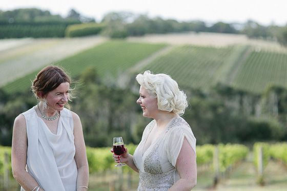 Jess & Ruth's Tuck's Ridge Winery commitment ceremony by It's Beautiful Here Photography with Marriage Celebrant Melbourne   Meriki Comito