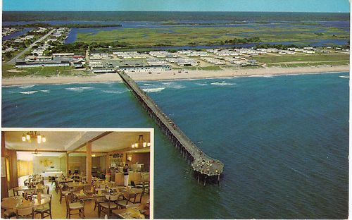 Surf City North Carolina Nc Scotch Bonnet Fishing Pier Top Sail Beach Sands Of Time Pinterest Surfing And