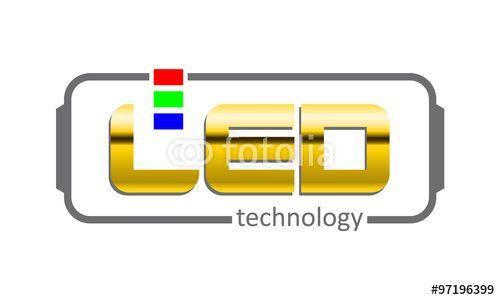 """Laden Sie den lizenzfreien Vektor """"LED Label"""" von Davidus zum günstigen Preis auf Fotolia.com herunter. Stöbern Sie in unserer Bilddatenbank und finden Sie schnell das perfekte Stockbild für Ihr Marketing-Projekt!"""