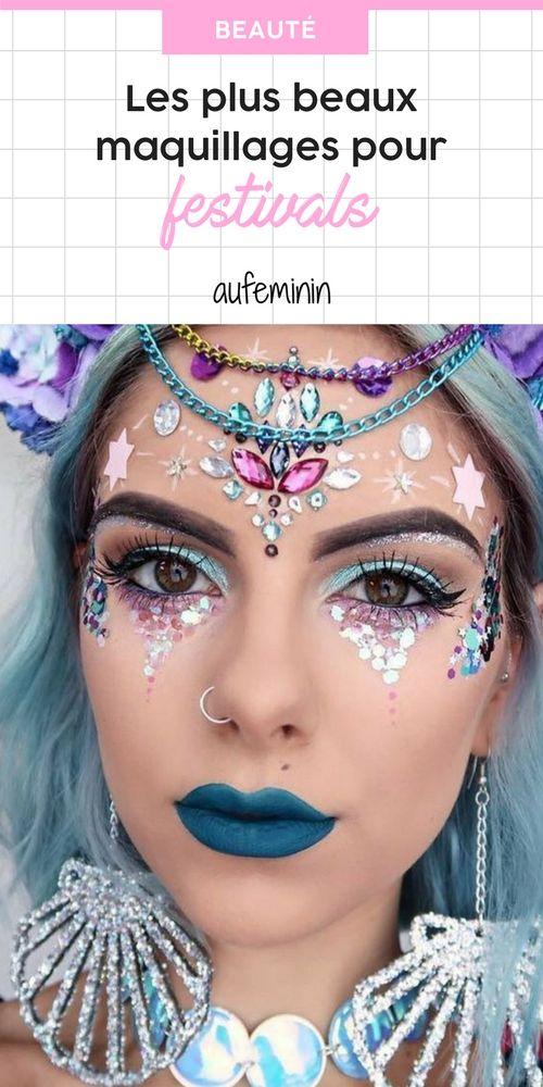 Les plus beaux maquillages de festival repérés sur Pinterest en 2019