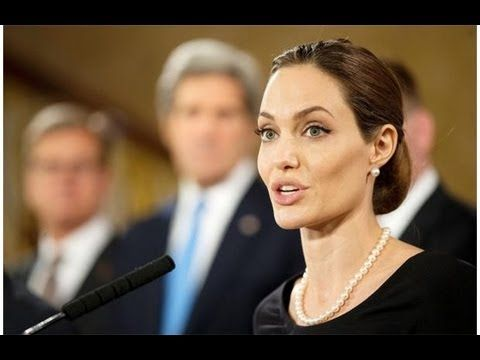 Angelina Jolie and Bill Clinton: Speeches on Improving Education Across ...