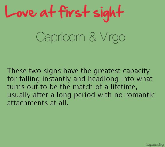 virgo and capricorn dating