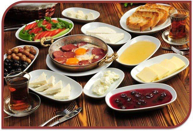 kahvaltı...