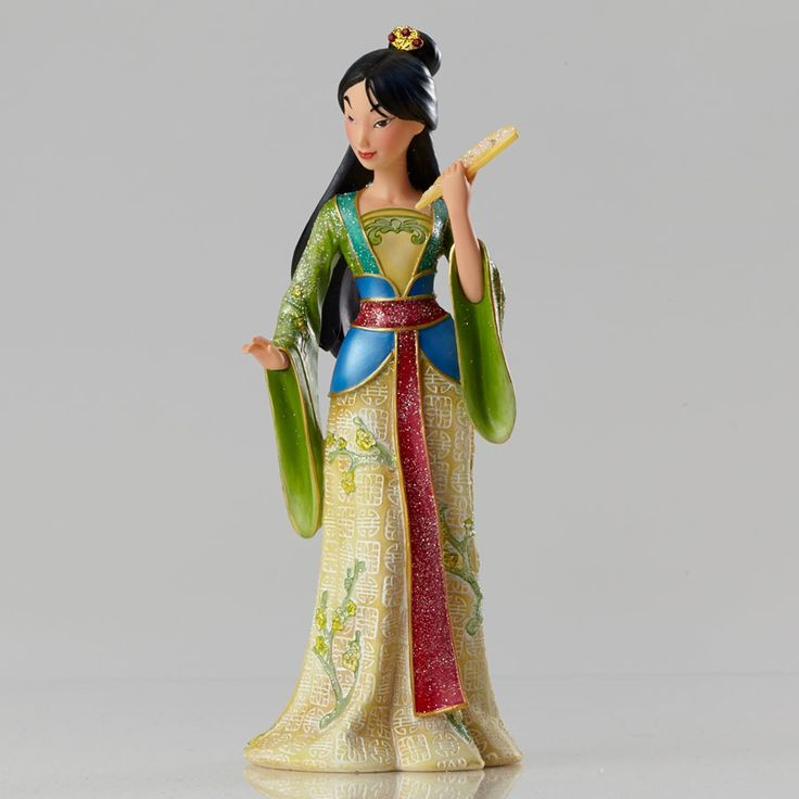 Mulan - Mulan Couture de Force - Walt Disney Showcase Collection - World-Wide-Art.com - #disney #disneyshowcase #figurines #mulan