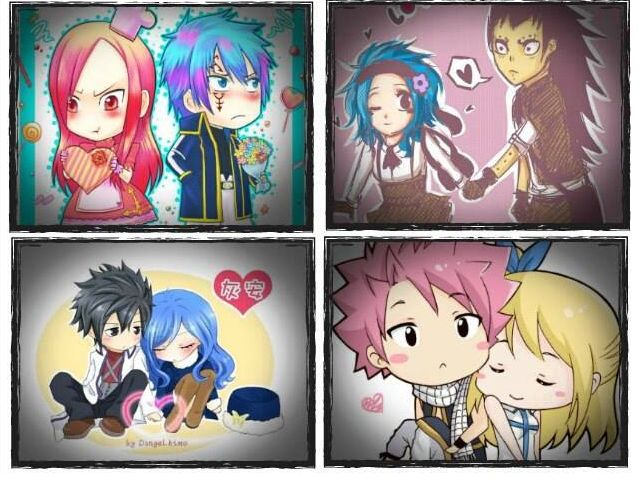 Fairy Tail Couples :)