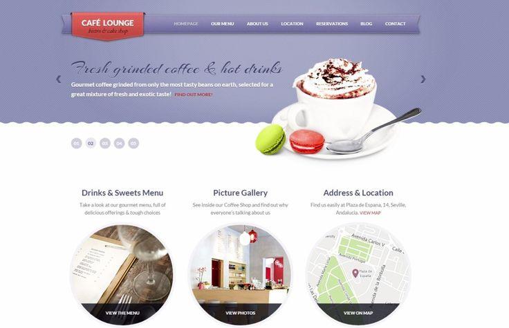 Bar WordPress Theme Coffee Lounge