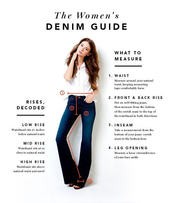 Denim Size Guide