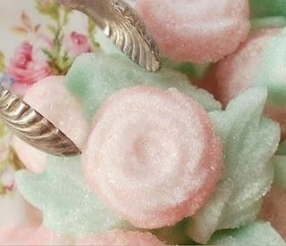 Sugar cubes for tea party.