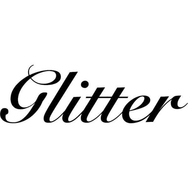 Glitter text ❤ liked on Polyvore featuring text, frames & background, glitter, phrase, quotes and saying