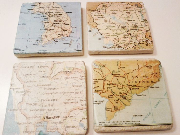 Map of destinations travelled to: S. Korea, Thailand, Cambodia and Vietnam by 5 Creations Handmade Decor