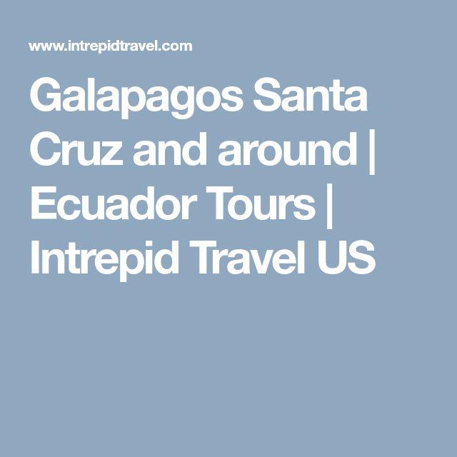 Galapagos Santa Cruz and around | Ecuador Tours | Intrepid Travel US