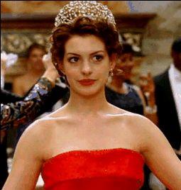 Princess diaries 2 red dress up sandals