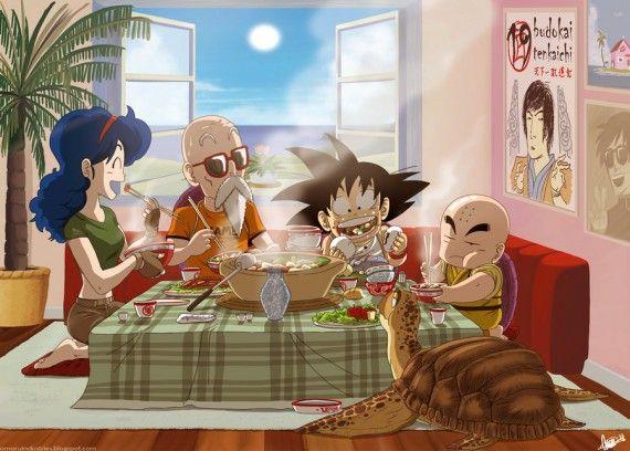 Fan art Dragon Ball : dessin de Omaru Industries