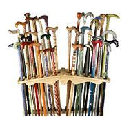 Irish Walking Sticks - Irish Gifts - Irish Blackthorn Shillelagh - Walking Canes