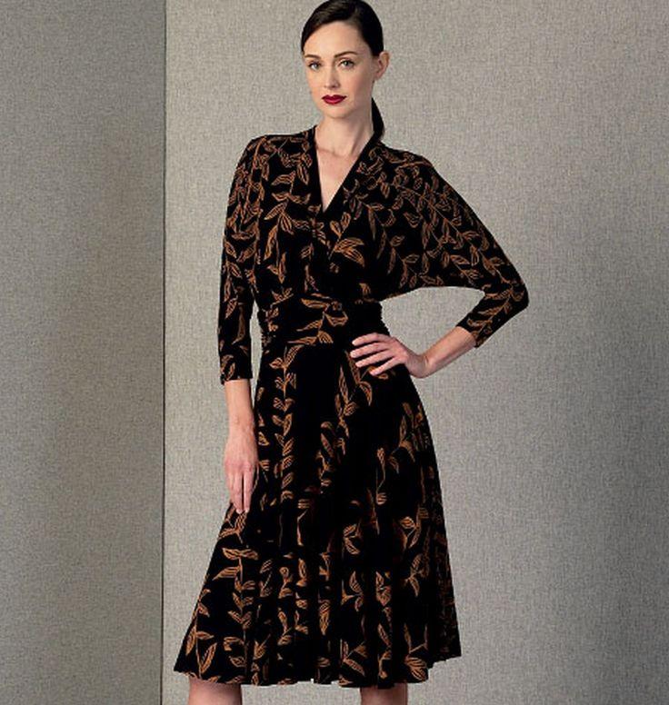 Vogue 1405 Misses' Dress