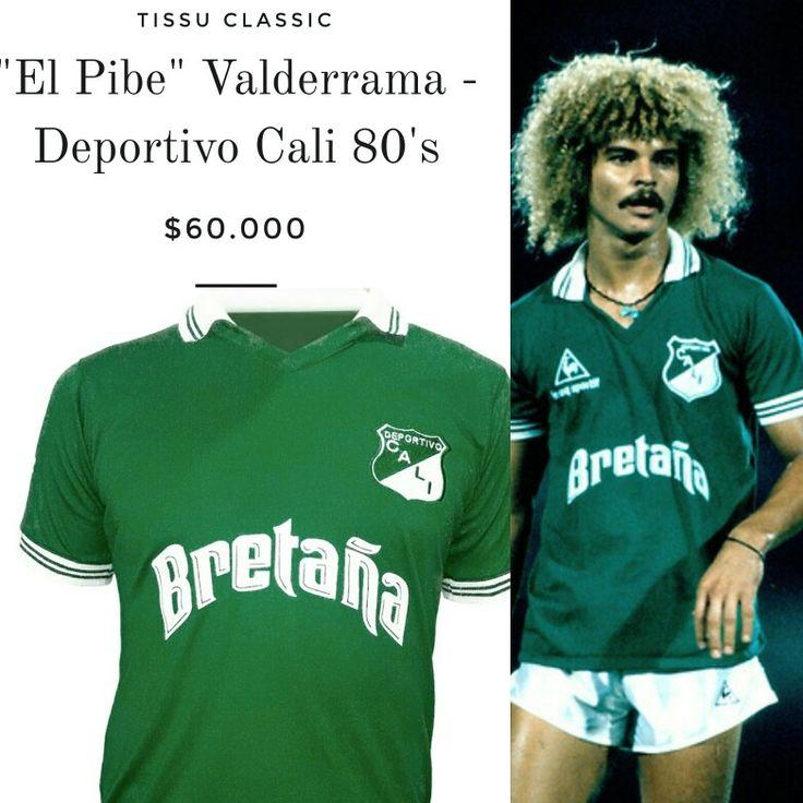 Carlos El Pibe Valderrama en el Cali