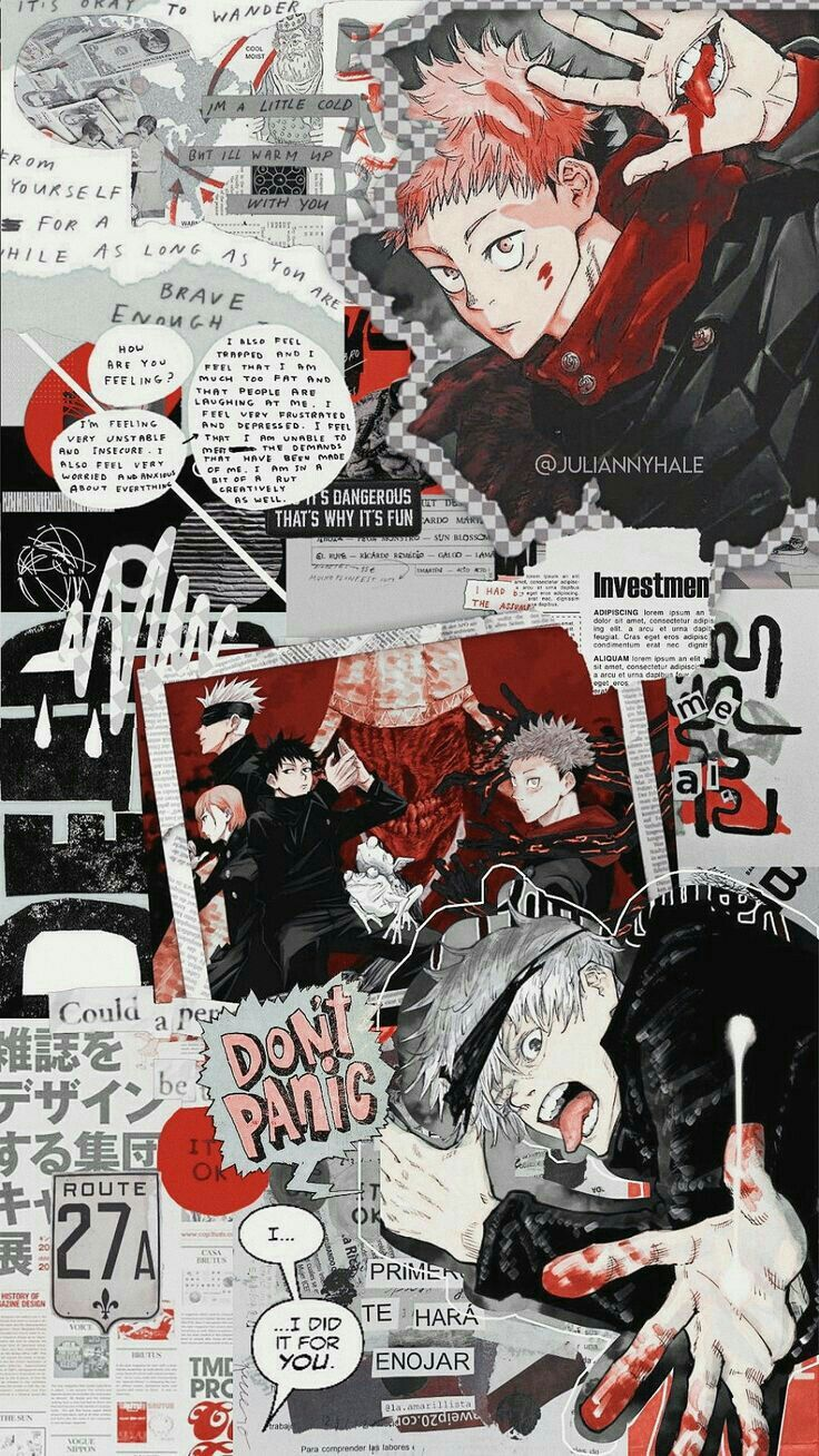 Jujutsu Kaisen Fondo De Pantalla De Anime Fondo De Anime Anime Estetico