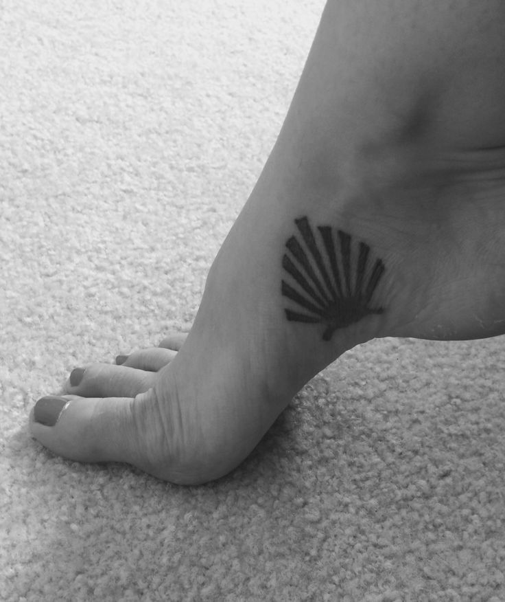 Camino de Santiago tattoo, create your own way.